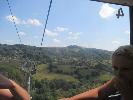 Heights of Abraham: cable car