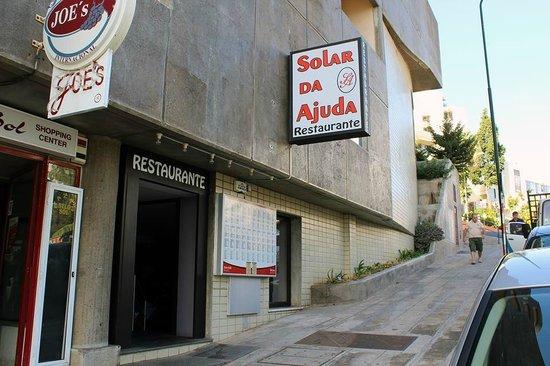 Solar Da Ajuda: Restaurant Front