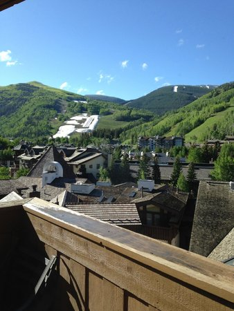 The Sebastian - Vail : view from our balcony