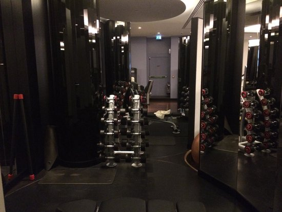 Corinthia Hotel London: Excellent for a gym during travel