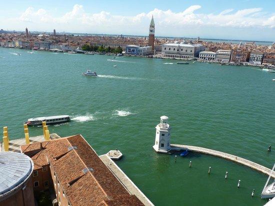 San Giorgio Maggiore : View towards St Mark's