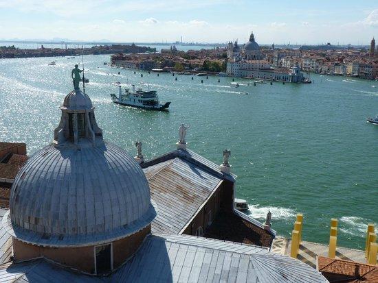 San Giorgio Maggiore : View to Basilica Santa Maria della Salute
