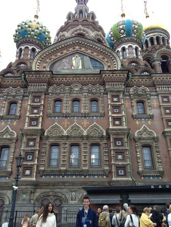 SPB Tours : Church on the Spilled Blood