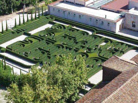 San Giorgio Maggiore : Maze beside the church