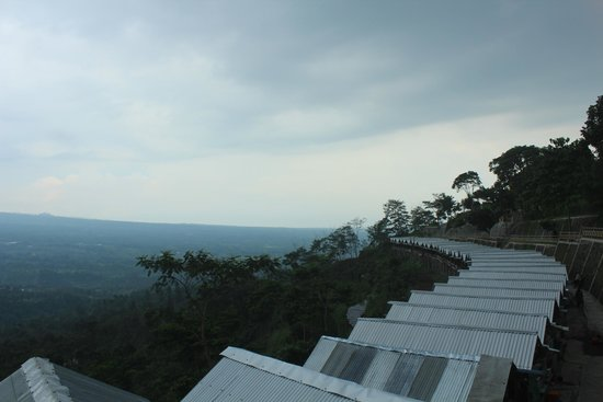 Magelang, Indonesia: Ketep pass view