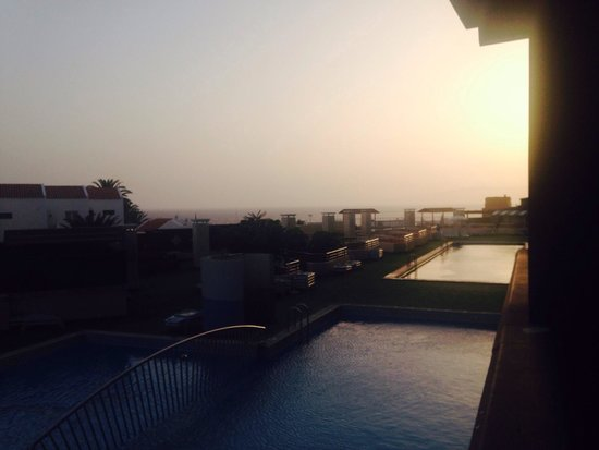 Hotel Villa de Adeje Beach: View from the bar terrace