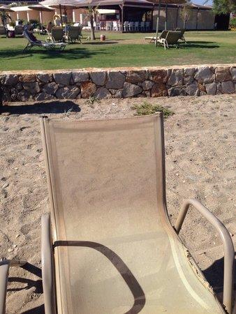 Cavo Spada Luxury Resort & Spa: Sedia della spiaggia