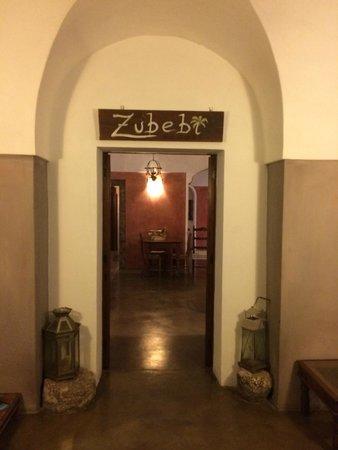 Zubebi Pantelleria : Entrance