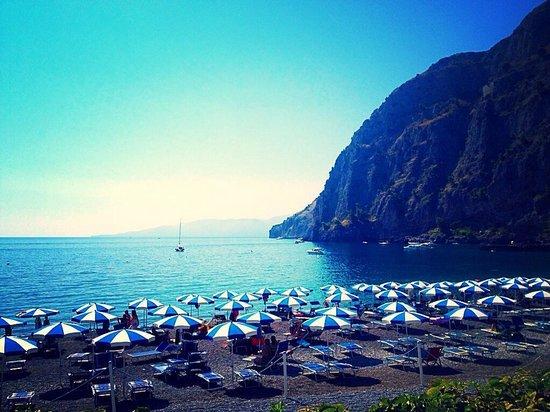Hotel Il Gabbiano: La spiaggia