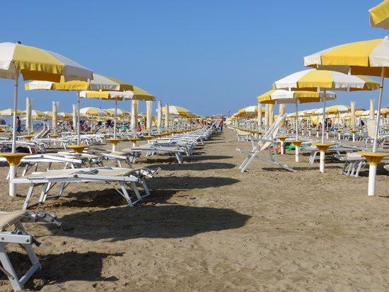 Hotel Garden Sea Caorle: La spiaggia