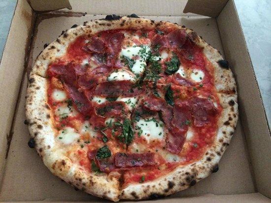 Pizzeria Libretto-Danforth: Cacciatore Salami  Pizza