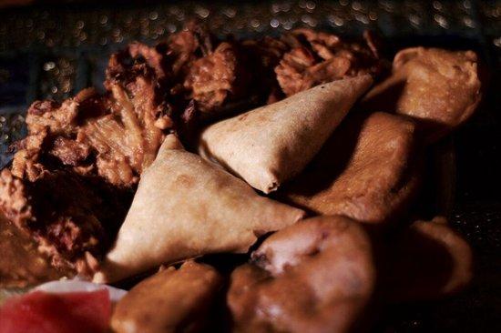 Pooja : Assortiment de beignets