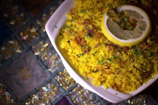 Pooja : Riz au safran