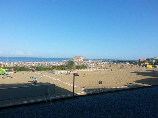 Hotel Stellamare: Blick vom Balkon