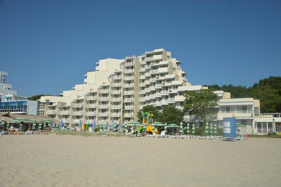 Hotel Mura: Вид с моря
