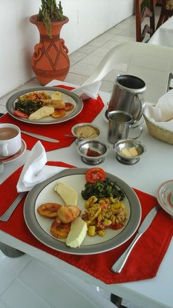 Ivanhoe's Guest House: Our breakfast