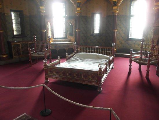 Castell Coch: Lady Bute' Bedroom