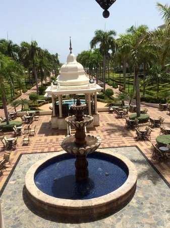 Hotel Riu Palace Punta Cana : Vista desde el Lobby