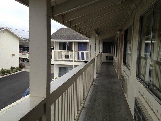 Motel 6 Fort Bragg : the corridor