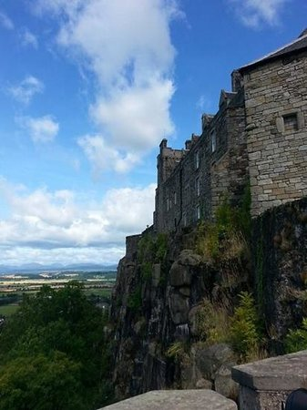 Stirling Castle: Exterior of castle