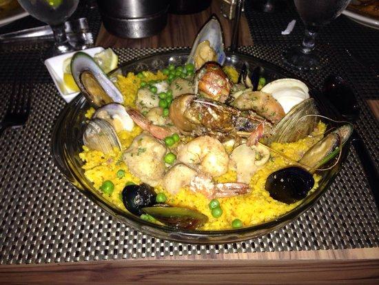 Restaurant Pasion por el Fogon: Paella, best dish