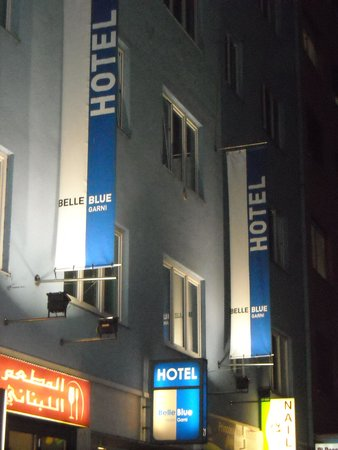 Belle Blue Hotel: outside of the hotel