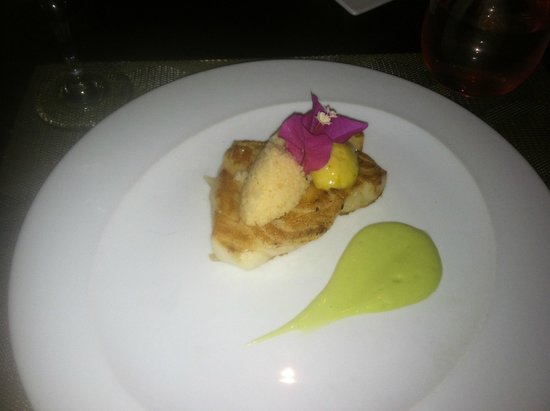 Paradisus Punta Cana Resort : Grilled Sea Bass Fish... YUM!