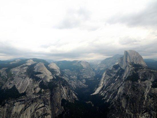 Yosemite vom Glacier Point
