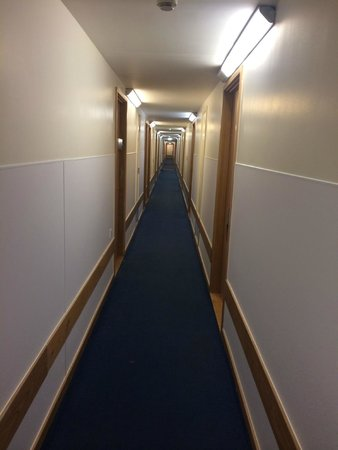 Travelodge London Central Euston : Corridor