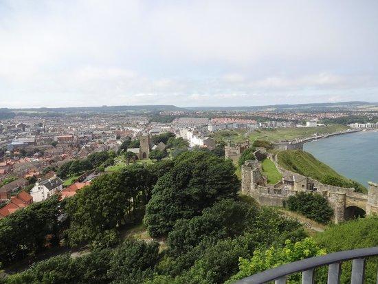 Scarborough Castle: Views from the castle