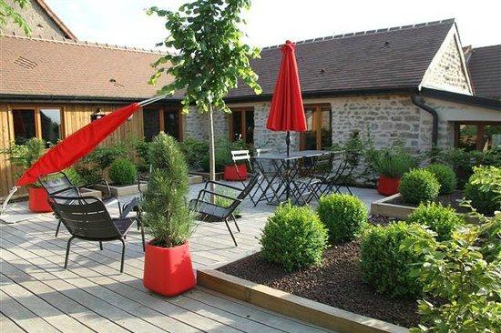Le Domaine Des Prés Verts : Terrace