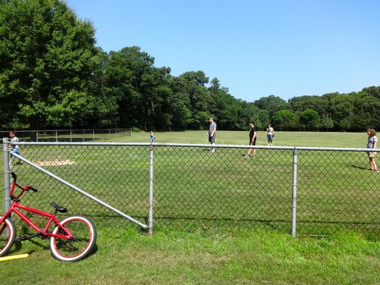 Wildwood State Park: The ball fields at Wildwood