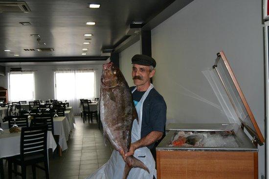 Delicias do Mar: O nosso Chef!!