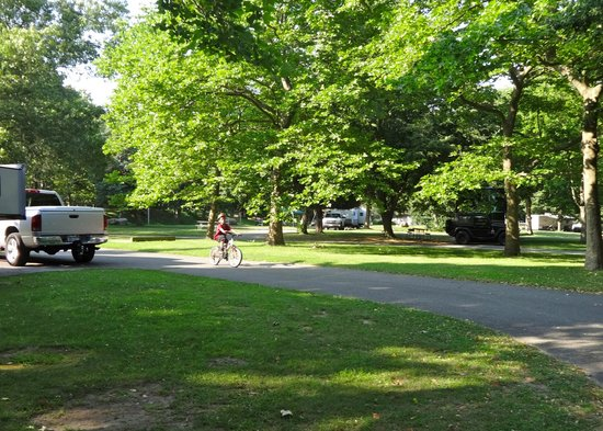 Wildwood State Park: Part of the Trailer section