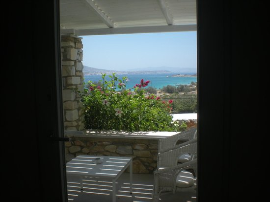 Paros Agnanti Resort: vue depuis notre chambre sur la mer