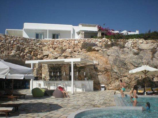 Paros Agnanti Resort: vue de notre terrasse