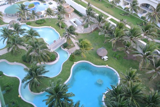 JW Marriott Cancun Resort & Spa: view of the scuba pool