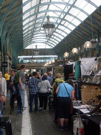 Greenwich Market : Visao de dentro