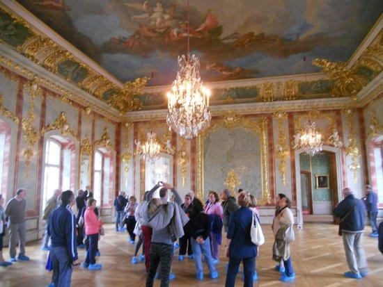Rundale Palace Museum (Rundales Pils): una delle tante eleganti sale !!