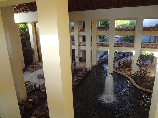 Occidental at  Xcaret Destination: hotel main lobby