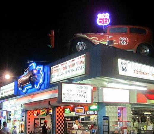 Route 66: The Route =)