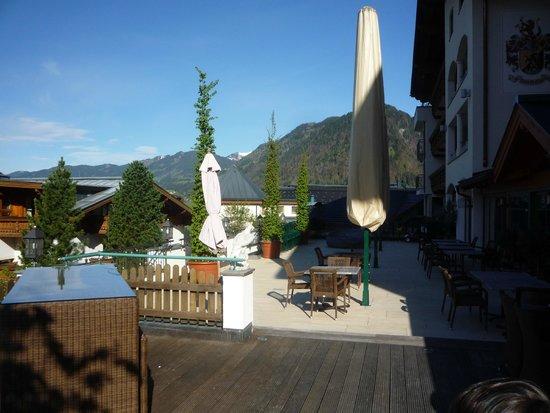 Hotel Alpendorf: Sun Deck
