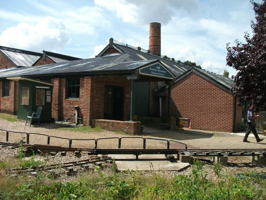 Bursledon Brickworks Industrial Museum: Way in
