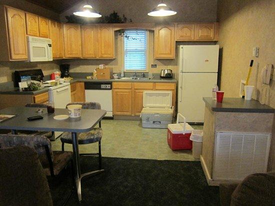 Carr's Northside Cottages & Motel : kitchen