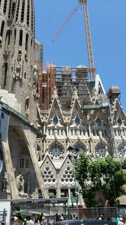 Basilica of the Sagrada Familia: Храм