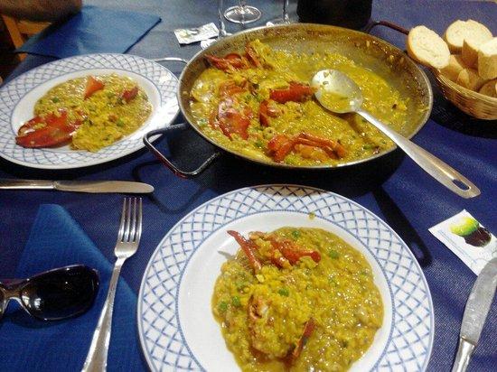 Villaricos, España: Arroz con bogavante