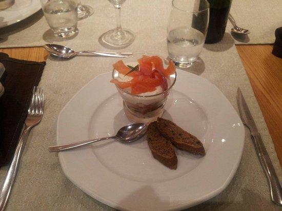 Hotel Les Prodains : Prima eten en mooi geserveerd.