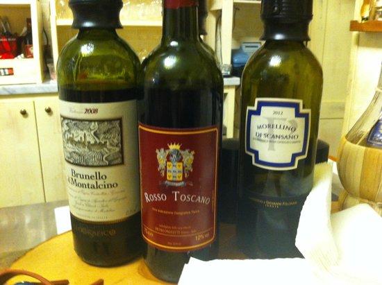 Amorino Panino E Vino: Amorino - €8 wine tasting