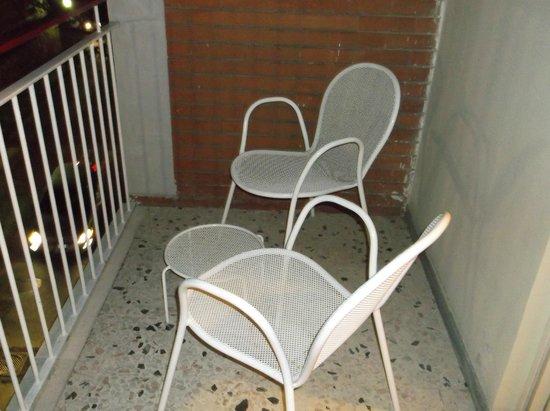 Hotel La Meridiana : balcony