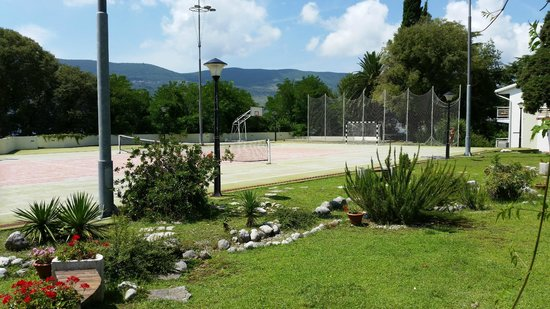 Hunguest Hotel Sun Resort : Tennis Court